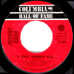 A Boy Named Sue (Columbia HOF 13-33177)