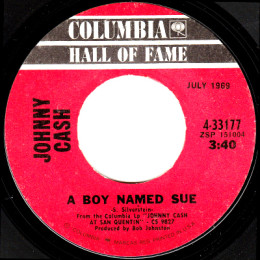 A Boy Named Sue (Columbia HOF 4-33177)
