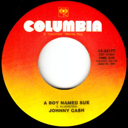 A Boy Named Sue (Columbia 13-33177)