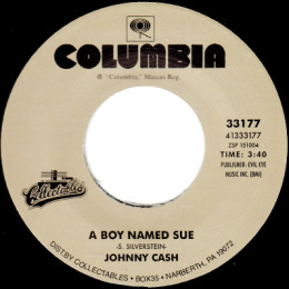 A Boy Named Sue (Columbia 33177)