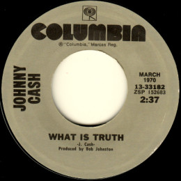 What Is Truth (Columbia 13.33182)
