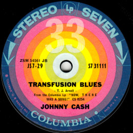 Transfusion Blues (Columbia S7 31111)