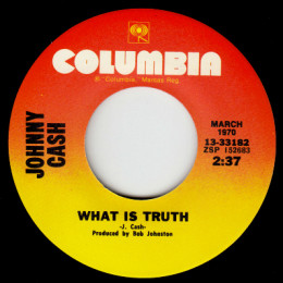 What Is Truth (Columbia 13-33182)