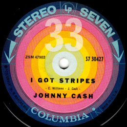 I Got Stripes (Columbia S7 30427)
