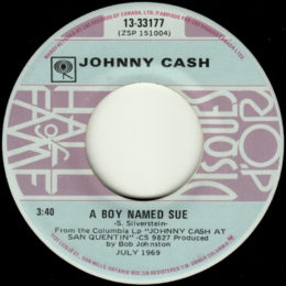 A Boy Named Sue (Columbia HOF 4-33177) canada