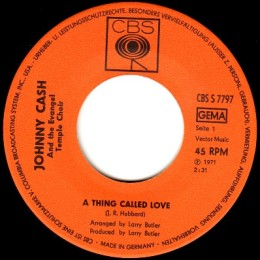 A Thing Called Love (CBS S 7797) variant 1