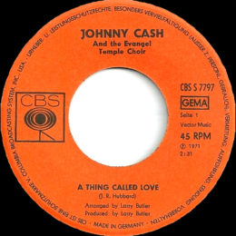 A Thing Called Love (CBS S 7797) variant 2