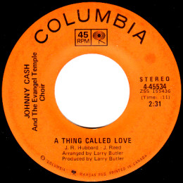 A Thing Called Love (Columbia 4 45534)