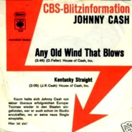 Any Old Wind That Blows ( promo sleeve)