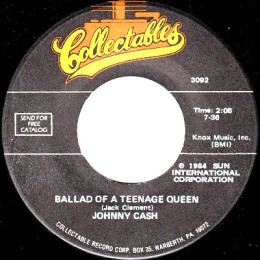 Ballad Of A Teenage Queen (3093)