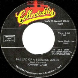 Ballad Of A Teenage Queen (Colletables 3092