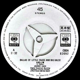 Ballad Of Little Fauss and Big Halsy (promo)