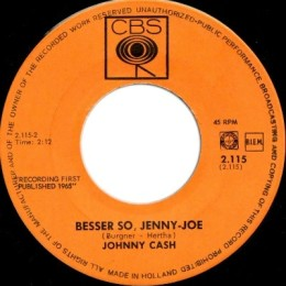 Besser So, Jenny-Joe (CBS 2.1115) holland