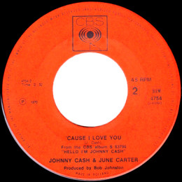 'Cause I Love You (CBS 4754)