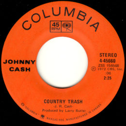 Country Trash (Columbia 4-45669) canada