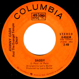 Daddy (Columbia 4 45534)