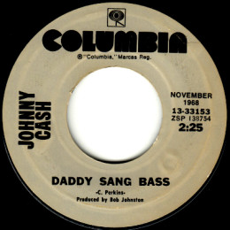 Daddy Sang Bass (Columbia HOF 13-33153)