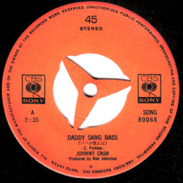 Daddy Sang Bass (Sony 80068)