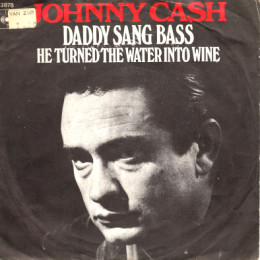 Daddy Sang Bass (sleeve)