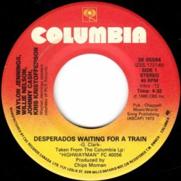 Desperados Waiting For A Train (Columbia 38-05594) can
