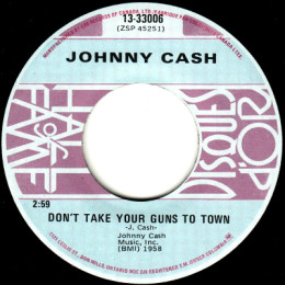 Don'tTake Your Guns To town (COLUMBIA 13-33006) canada