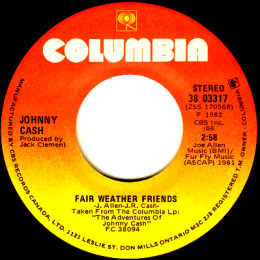 Fair Weather Friends (Columbia 38-03317)