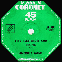 Five Feet High And Rising (Coronet KS 335) Australia