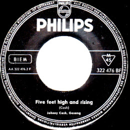 Five Feet High And Rising (Philips 322 476 BF) - Germany