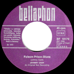 Folsom Prison Blues (Bellaphon BF 18179)