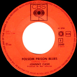 Folsom Prison Blues (CBS 3549)