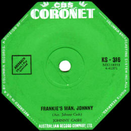 Frankie's Man Johnny (Coronet KS 316) variant 2