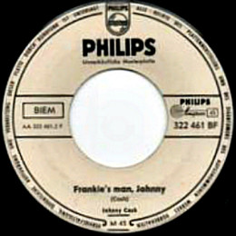 Frankie's Man, Johnny - promo German