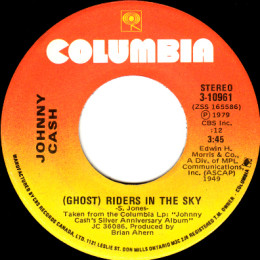 (Ghost) Riders In The Sky (Columbia 3-10961)