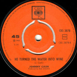He Turned The Water Into Wine (CBS 3878)