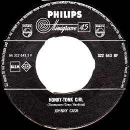 Honky Tonk Girl (Philips BF 322 643) - Holland