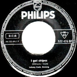 I Got Stripes (Philips 322 476 BF) - Germany