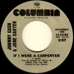 If I Were A Carpenter (Columbia 13.33182)