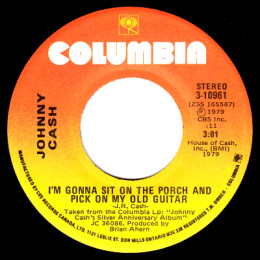 I'm Gonna Sit On The Porch And Pick On My Old Guitar (Columbia 3-10961)