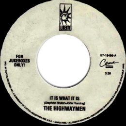 It Is What It Is (Highwaymen)
