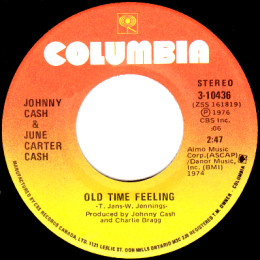 Old Time Feeling (Columbia 3-10436)