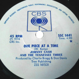 One Piece At A Time (CBS SSC 1441) SA