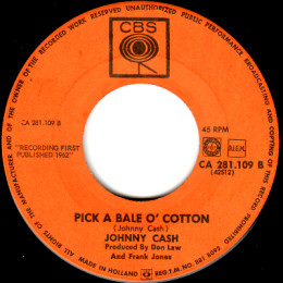 Pick A Bale O'Cotton (CBS CA 281.109)