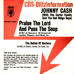 Praise The Lord And Pass The Soup (promo sleeve)