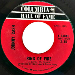 Ring Of Fire (Columbia HOF 4-33089)