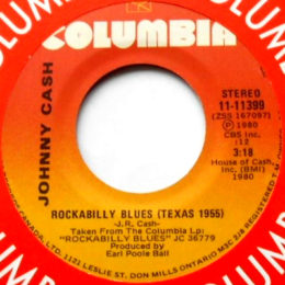Rockabilly Blues (Columbia 11-11399) Canada