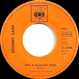 Sing A Traveling Song CBS 4934)