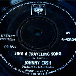 Sing A Traveling Song (Columbia 4-45134)
