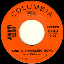 Sing A Traveling Song (Columbia 4S- 45134)