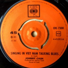 Singing In Viet Nam Talking Blues (CBS 7300)