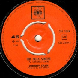 The Folk Singer (CBS 3549)